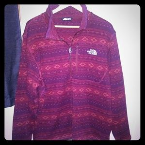 North Face Half Zip Sweater NWOT XL
